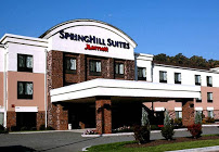front of the springhill suites