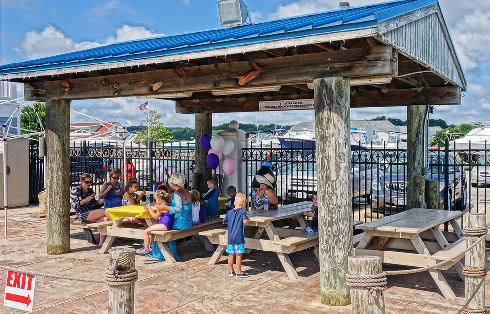 chesapeake beach waterpark cabana
