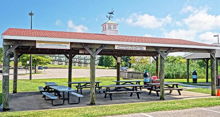 chesapeake beach waterpark cabana